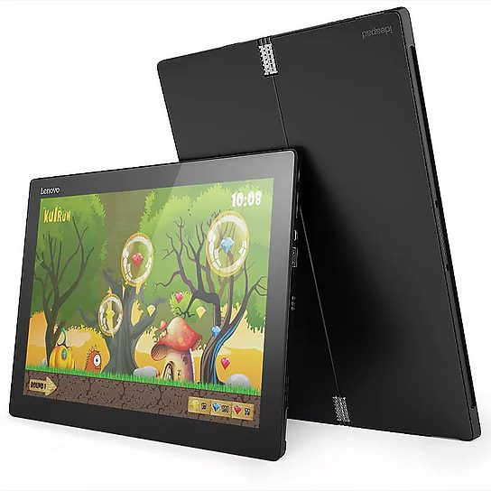 联想 MIIX 4 尊享版 二合一平板电脑 12英寸 黑色图片