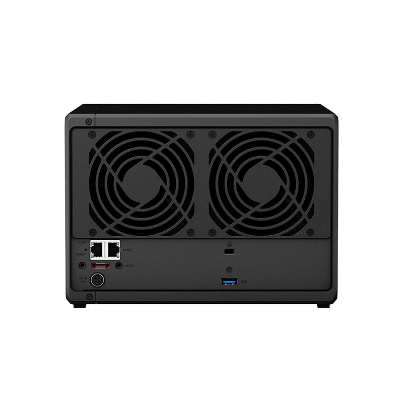 群晖(Synology)DS1019+ 5盘位 NAS网络存储服务器 (无内置硬盘)图片